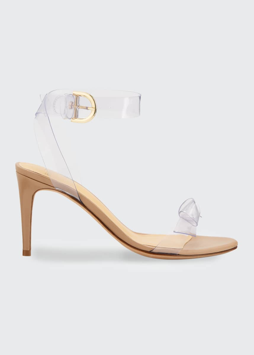 Alexandre Birman Clarita Vinyl Stiletto Sandals