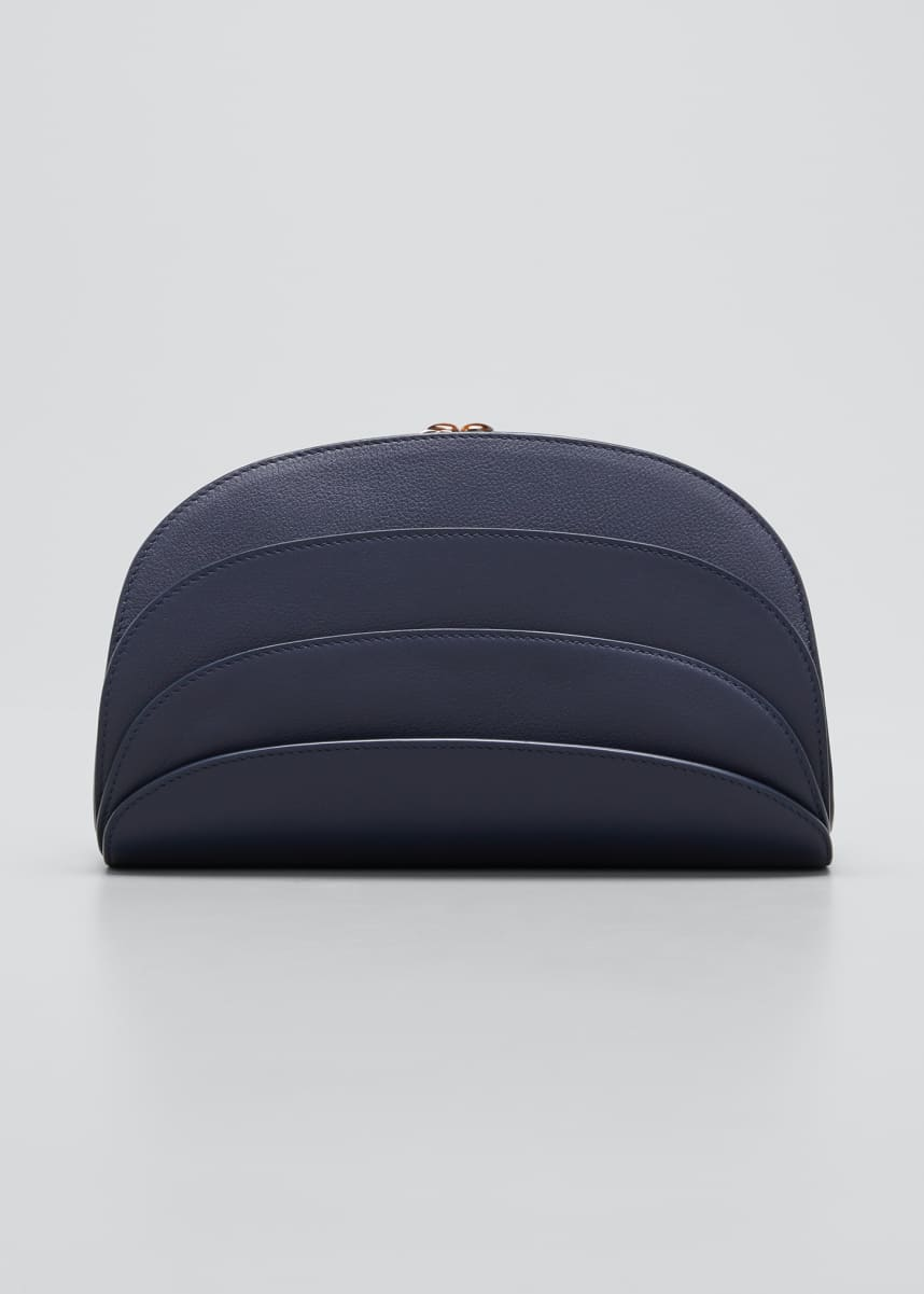 Gabo Guzzo Millefoglie C Leather Clutch Bag