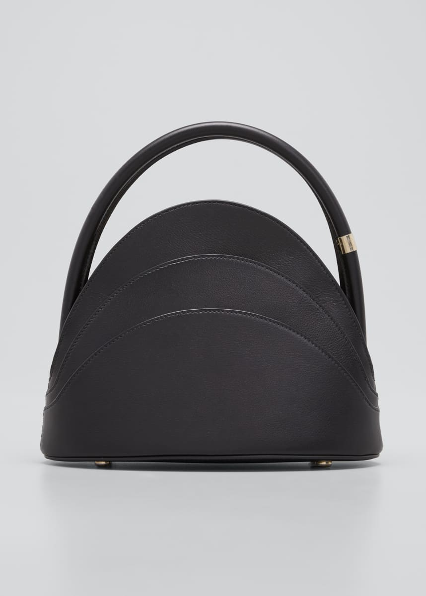 Gabo Guzzo Millefoglie S Mini Leather Top-Handle Bag