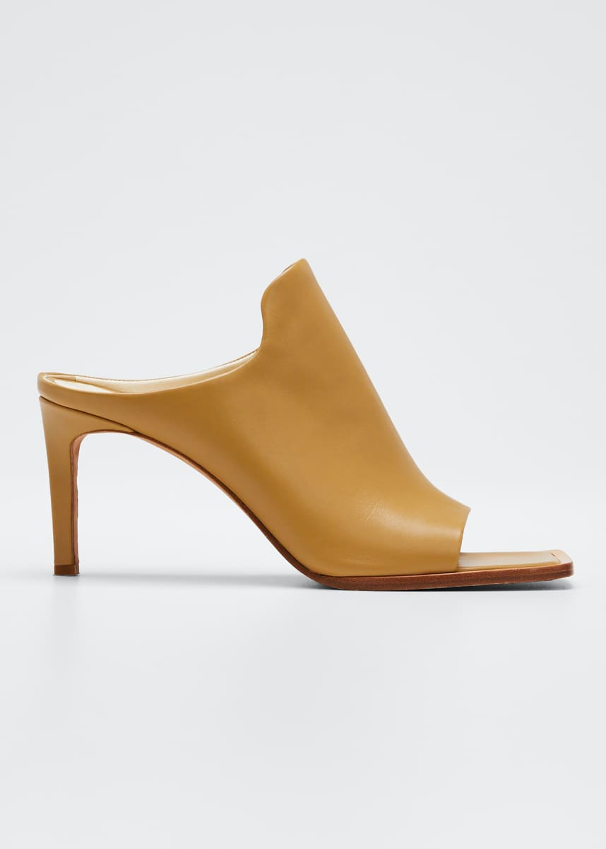 Tibi Andre Baby Calf Heeled Sandals