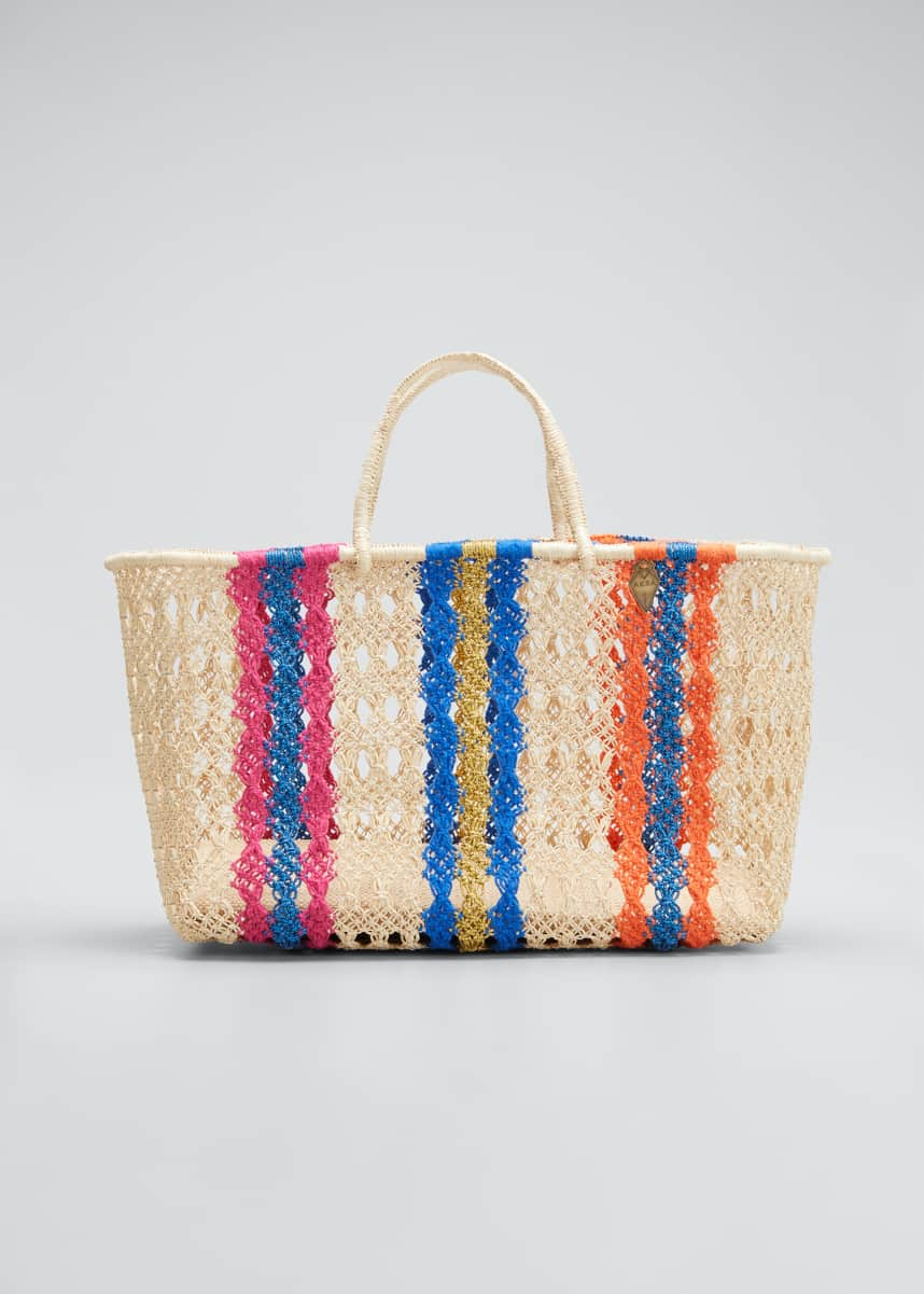 Akra Collection Margo Medium Striped Tote Bag