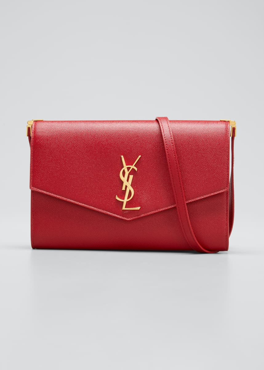 Saint Laurent YSL Uptown Envelope Shoulder Bag