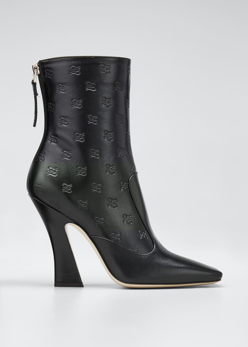 Fendi FFreedom 105mm Vitello FF Booties