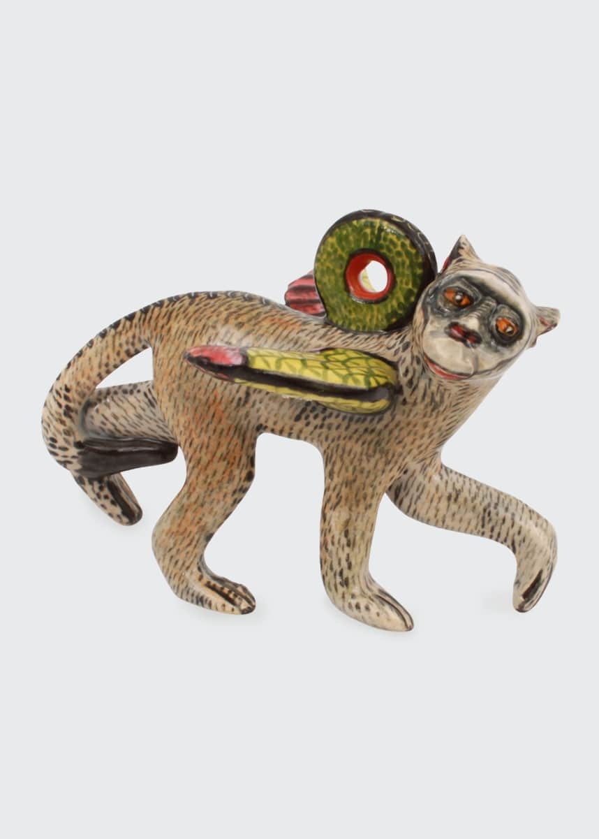 Ardmore Ceramic Art Monkey Hanger