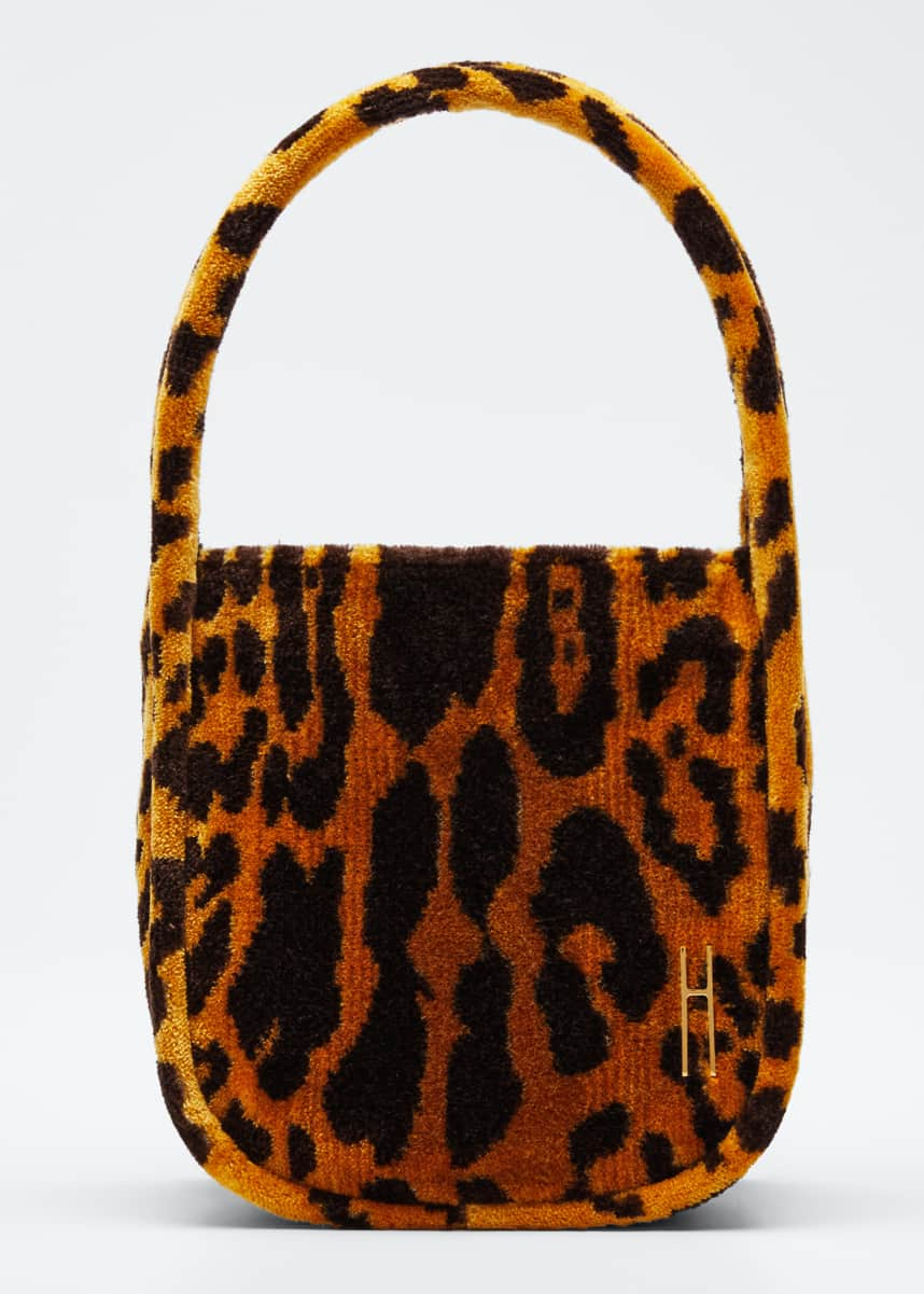 Hayward Leopard Brocade Guide Top Handle Bag