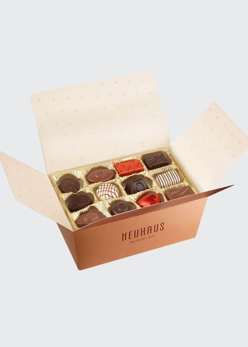 Neuhaus Chocolate 34-Piece Praline Assortment Box