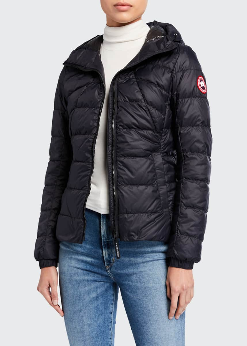 Canada Goose PBI Abbott Zip-Up Puffer Hoodie Jacket