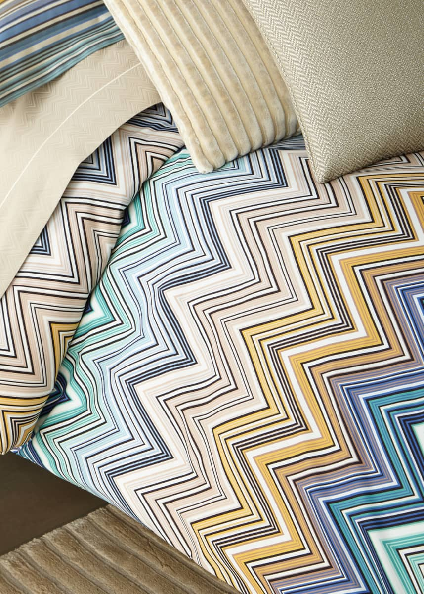 Missoni Home Trevor Queen Duvet Cover