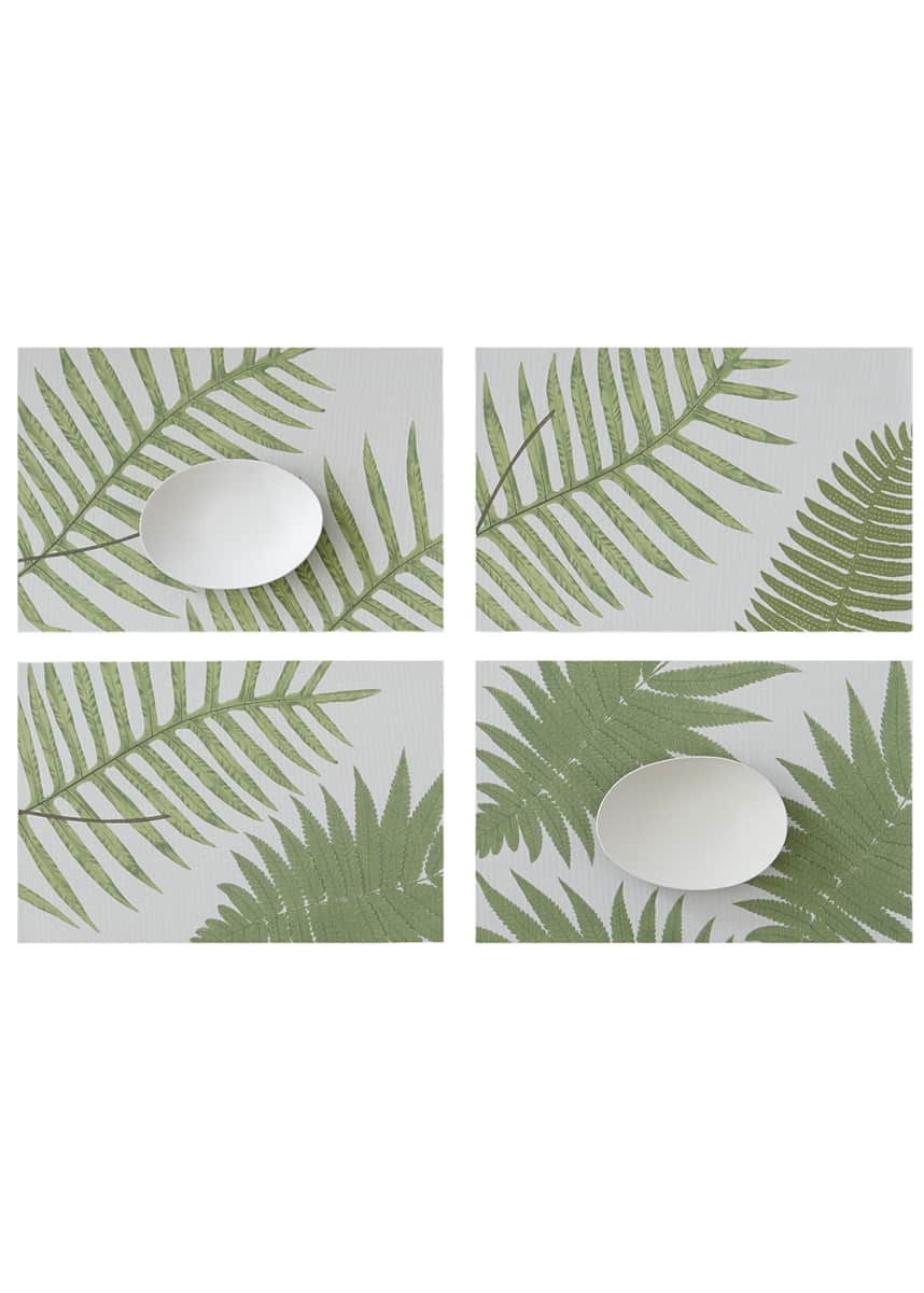 Chilewich British Fern Placemats, Set of 4