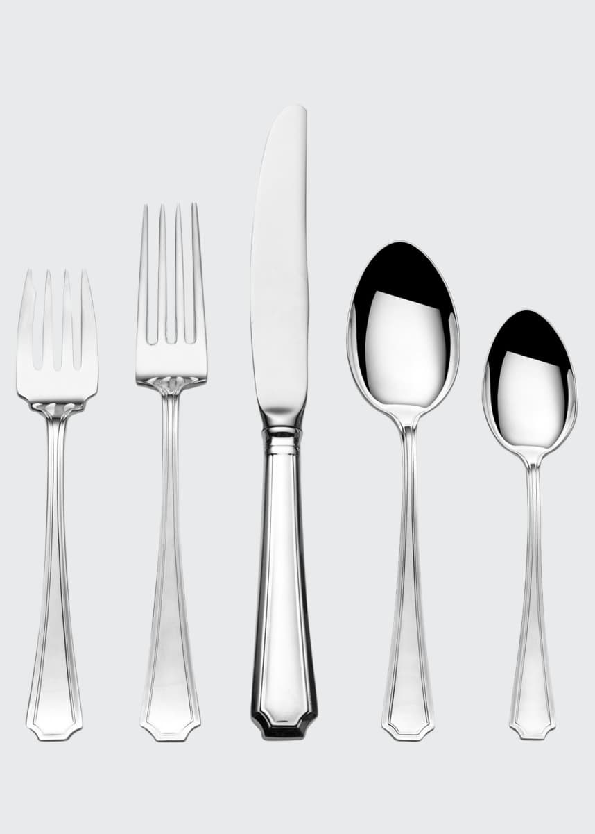 Gorham Fairfax 66-Piece Dinner Flatware Set