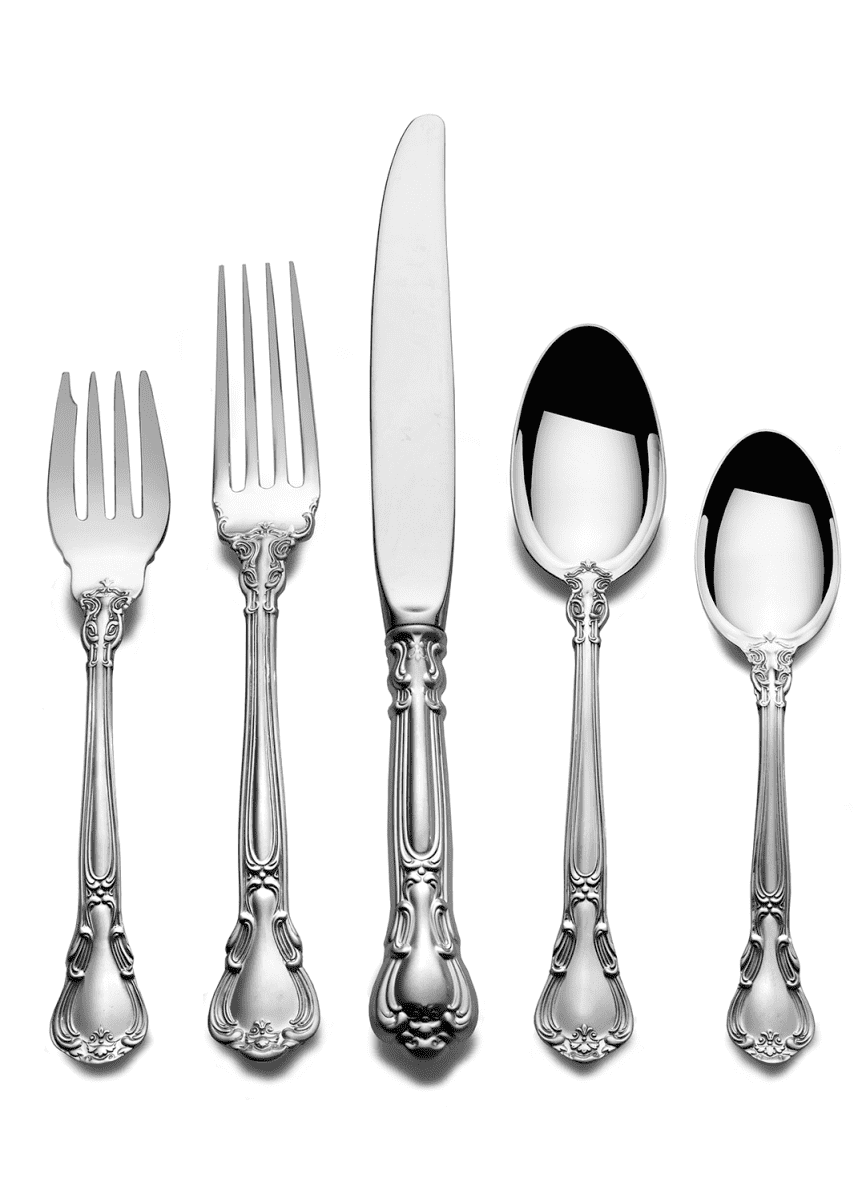 Gorham Chantilly 66-Piece Dinner Flatware Set