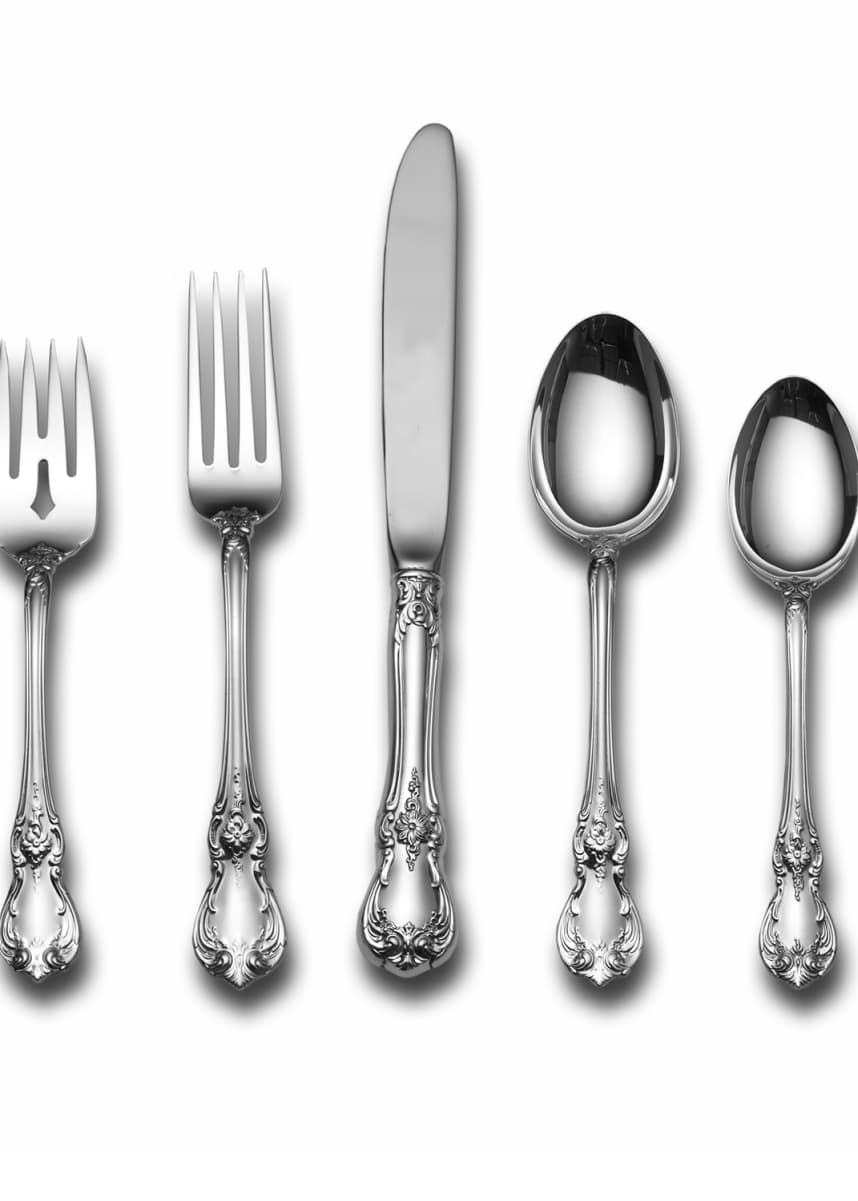 Towle Silversmiths Old Master 46-Piece Dinner Flatware Set