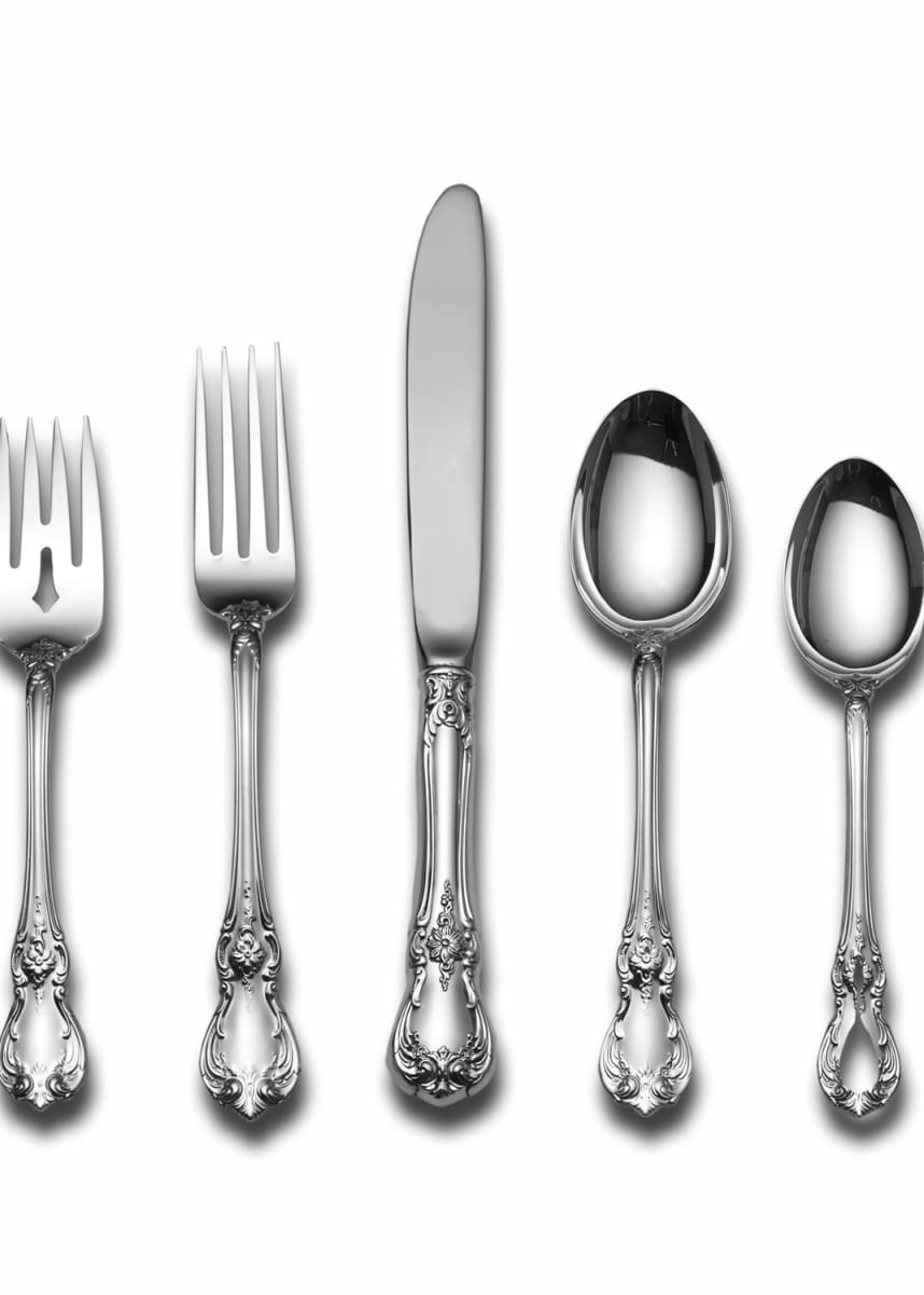 Towle Silversmiths Old Master 66-Piece Dinner Flatware Set