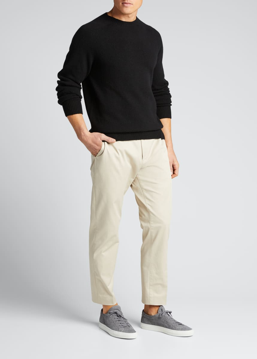 Margaret Howell Men's Crew Neck Cashmere-Blend Sweater