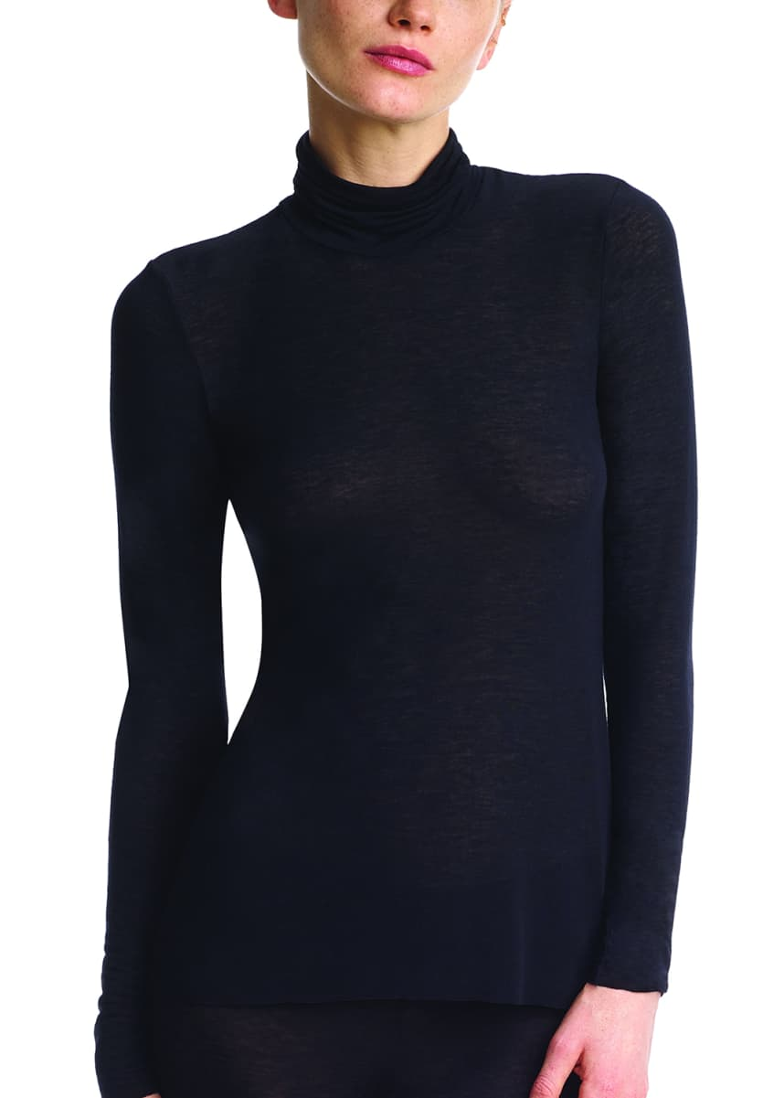 Commando Cashmere Layering Turtleneck Top