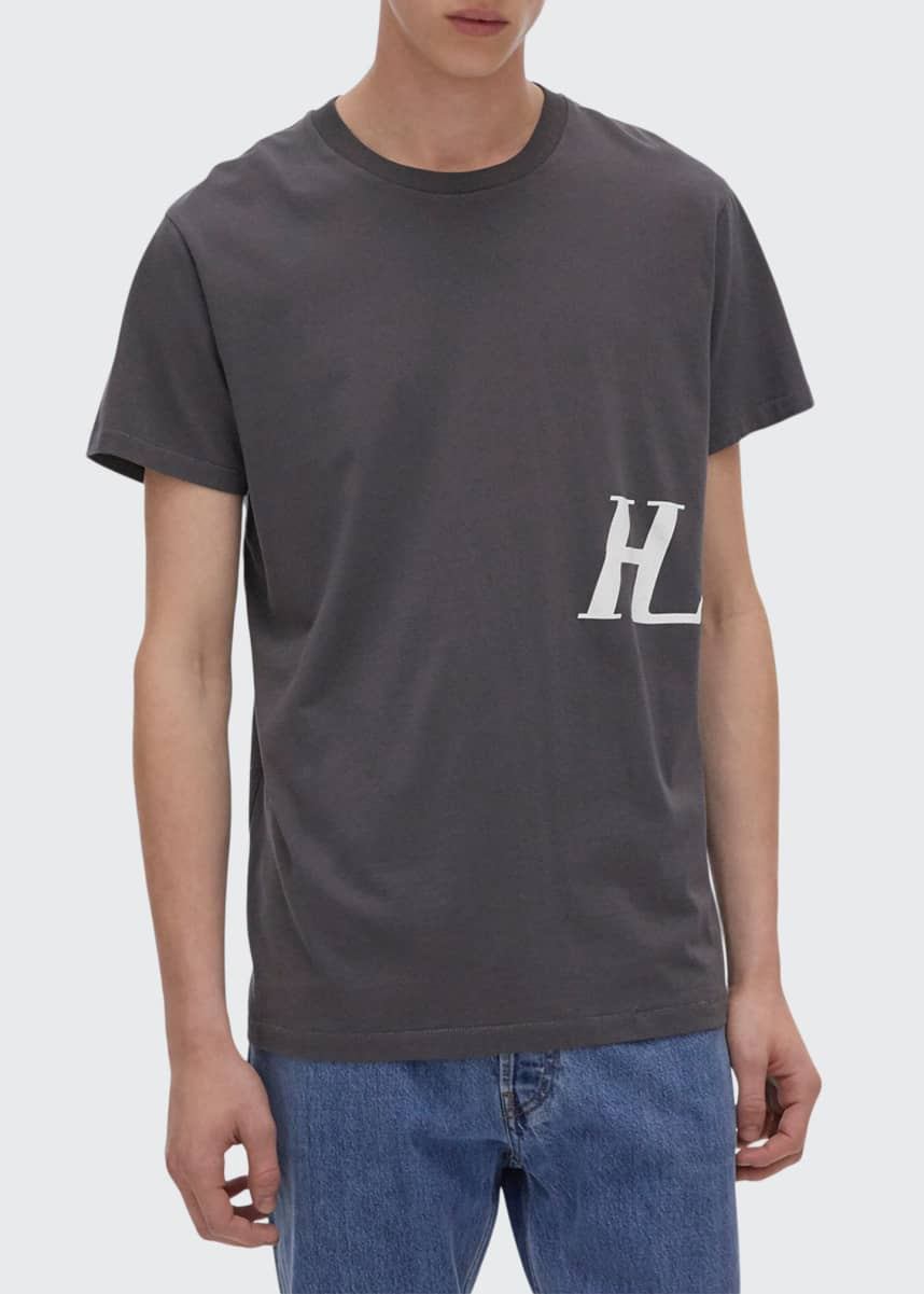 Helmut Lang Men's Monogram Short-Sleeve T-Shirt
