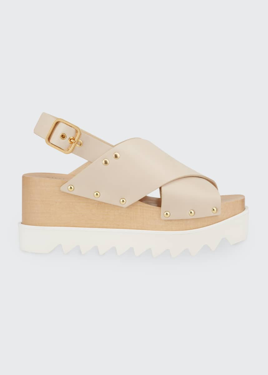Stella McCartney Percy Platform Chunky Sandals