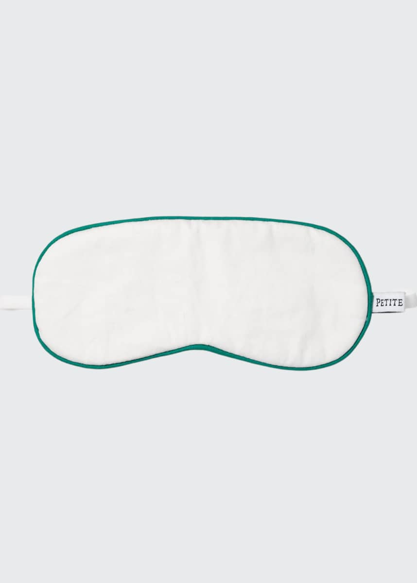 Petite Plume Kid's Contrast Piping Eye Mask