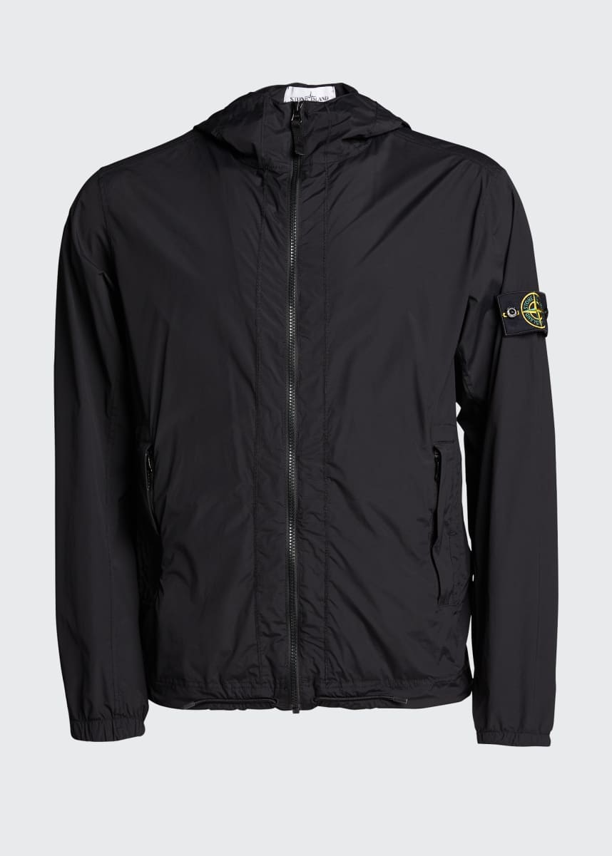 Stone Island Men's Packable Hooded Jacket