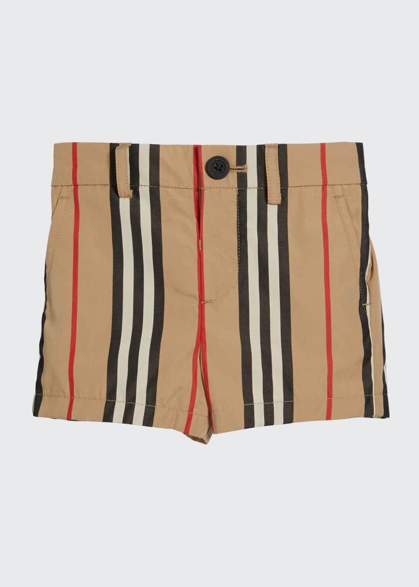 Burberry Boy's Nicki Icon Stripe Shorts, Size 6M-2