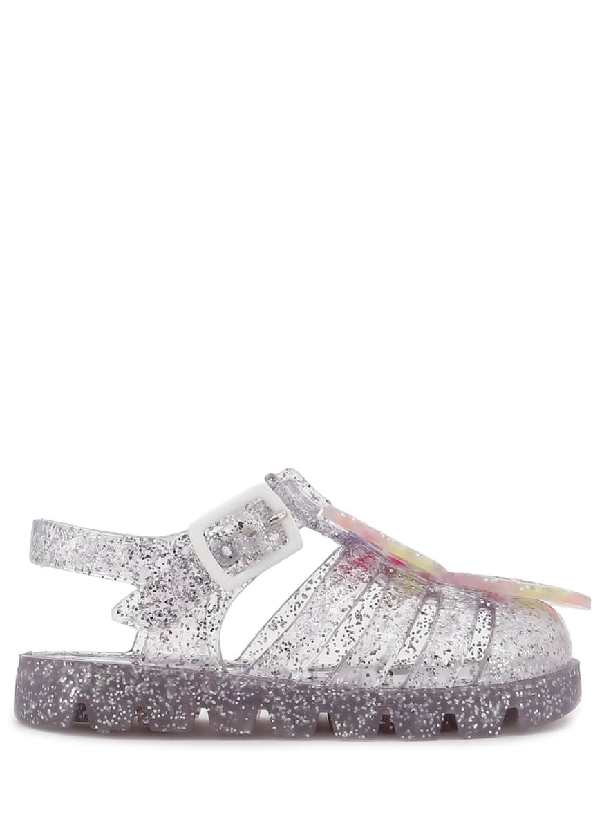 Sophia Webster Butterfly Glitter Jelly Sandals, Baby/Toddler