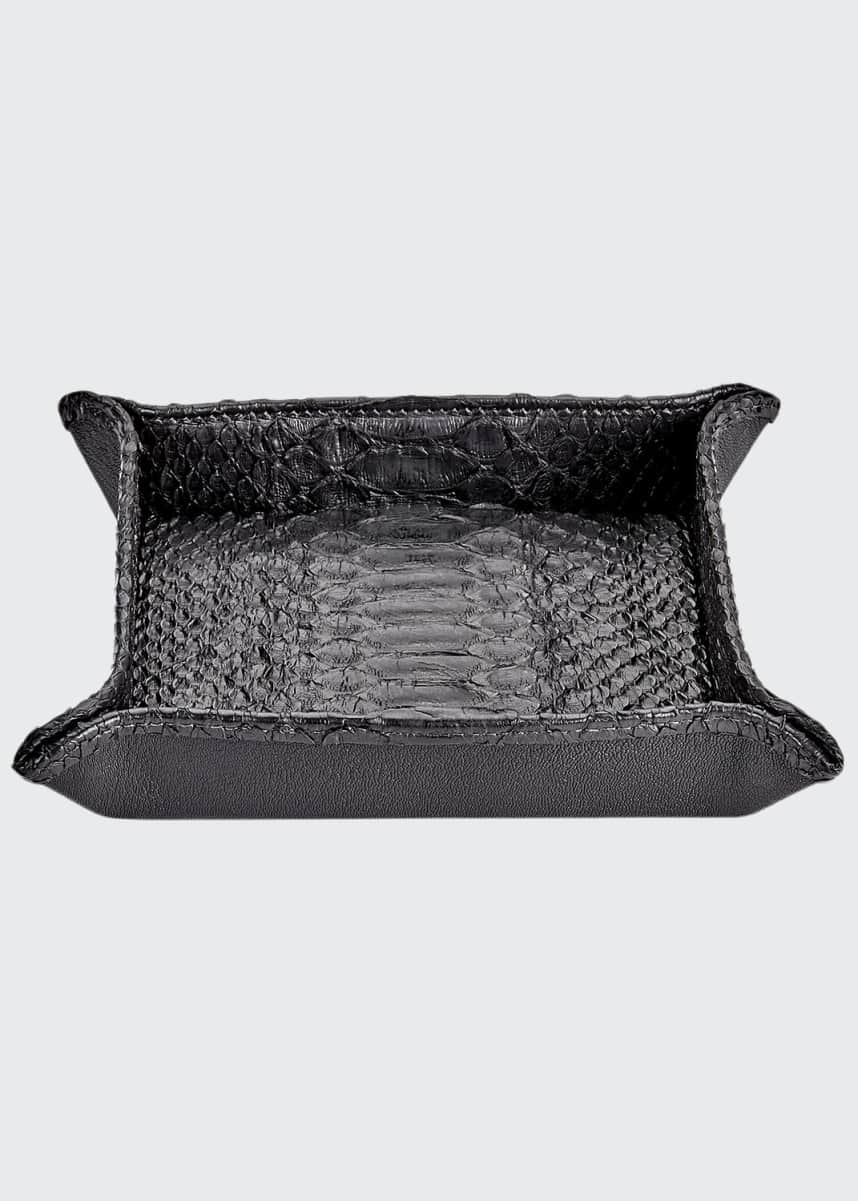 Graphic Image Large Python Valet Tray