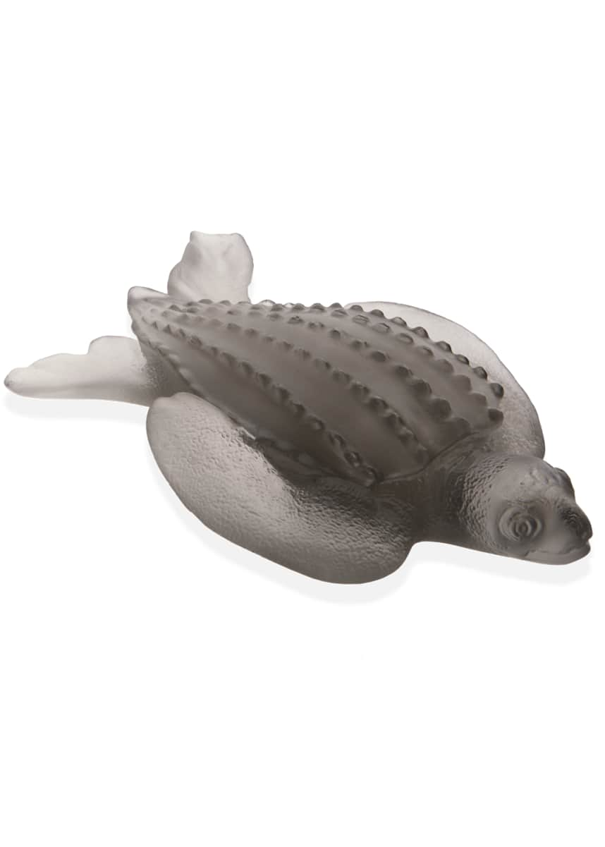 Daum Leatherback Turtle Figurine