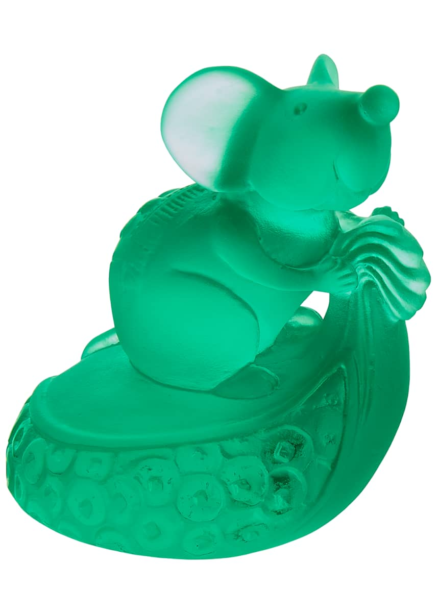 Daum Horoscope Rat Figurine