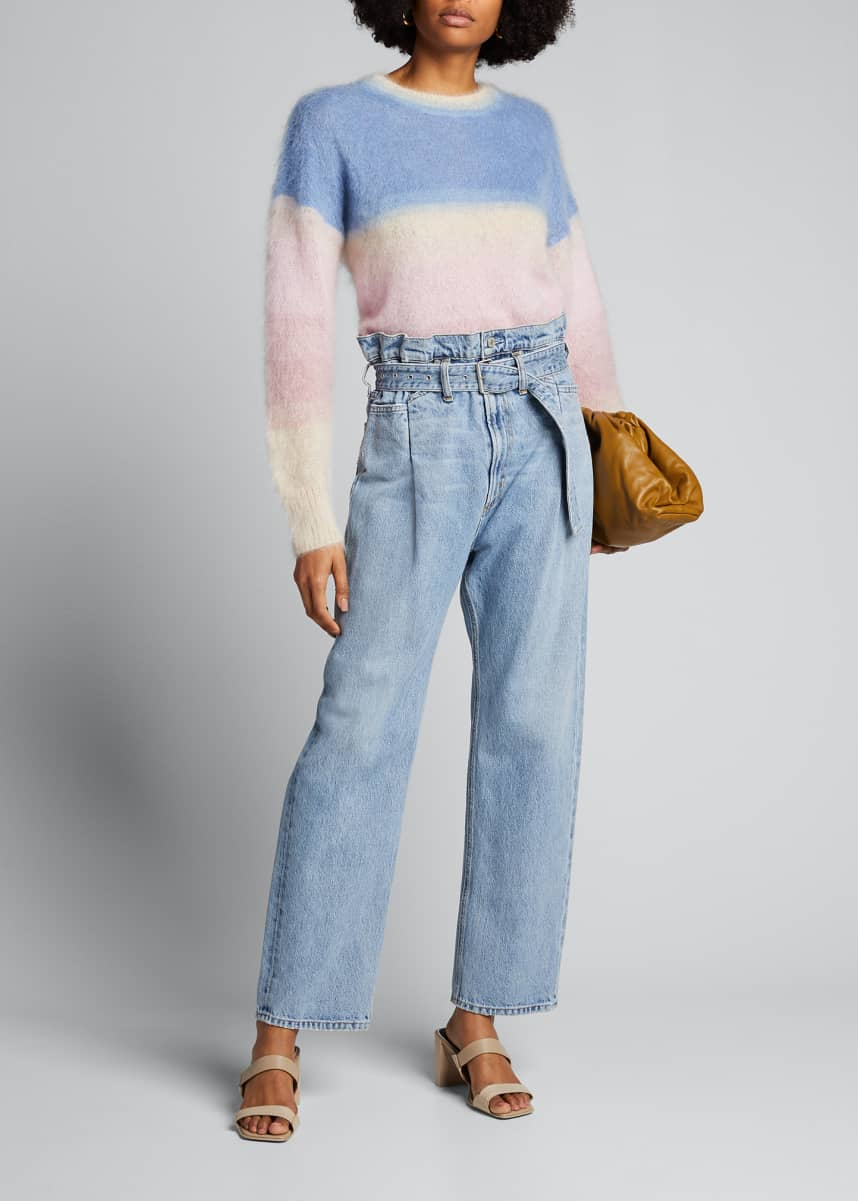 AGOLDE Reworked 90s Belted Jeans