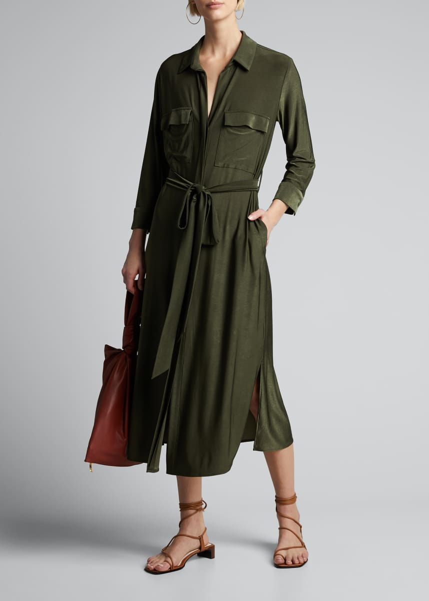 L'Agence Rivi Long Shirtdress