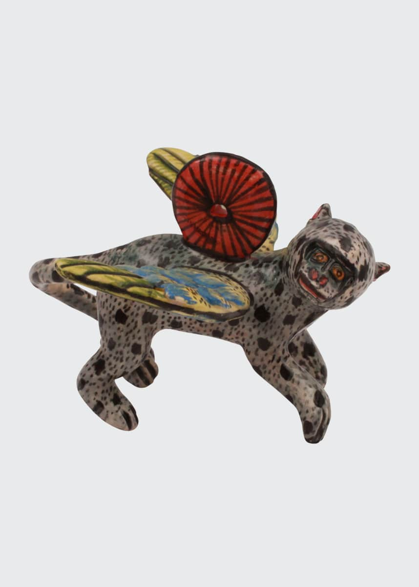 Ardmore Ceramic Art Monkey Ornament