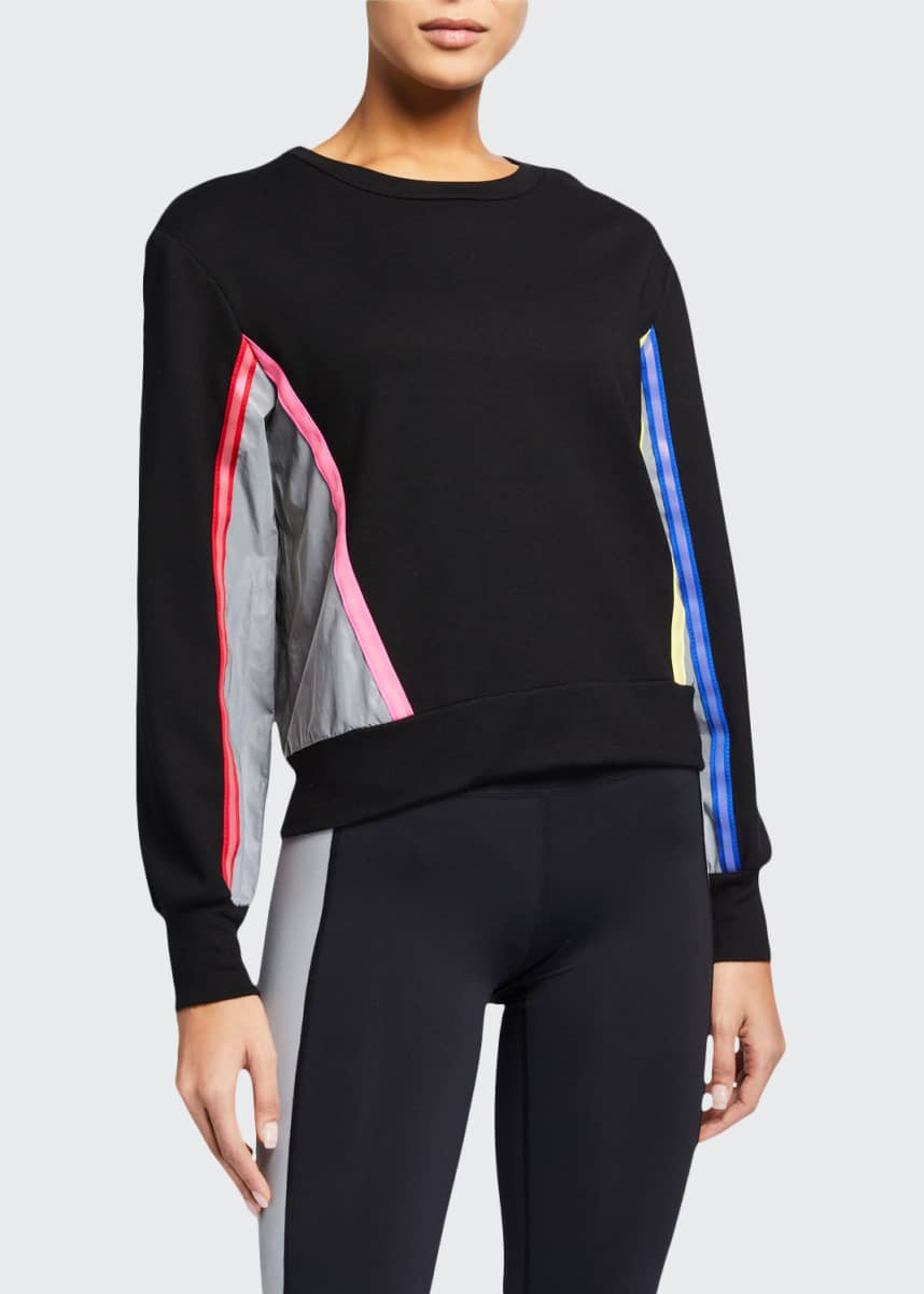 Terez Colorblock Sweatshirt with Reflective Trim