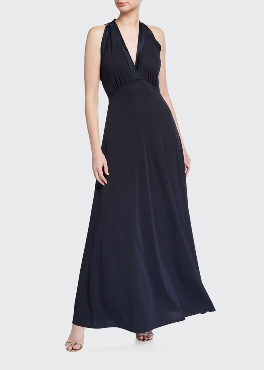 Elie Tahari Everly Sleeveless Maxi Dress