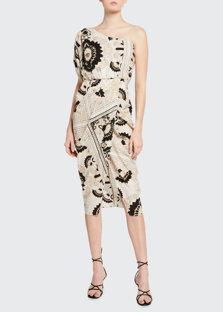Johanna Ortiz Sacred Geometry Cotton Dress
