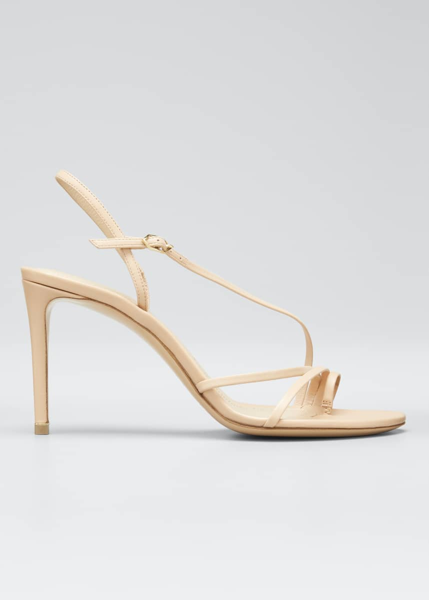 Nicholas Kirkwood Elements 85mm Leather Toe-Loop Sandals