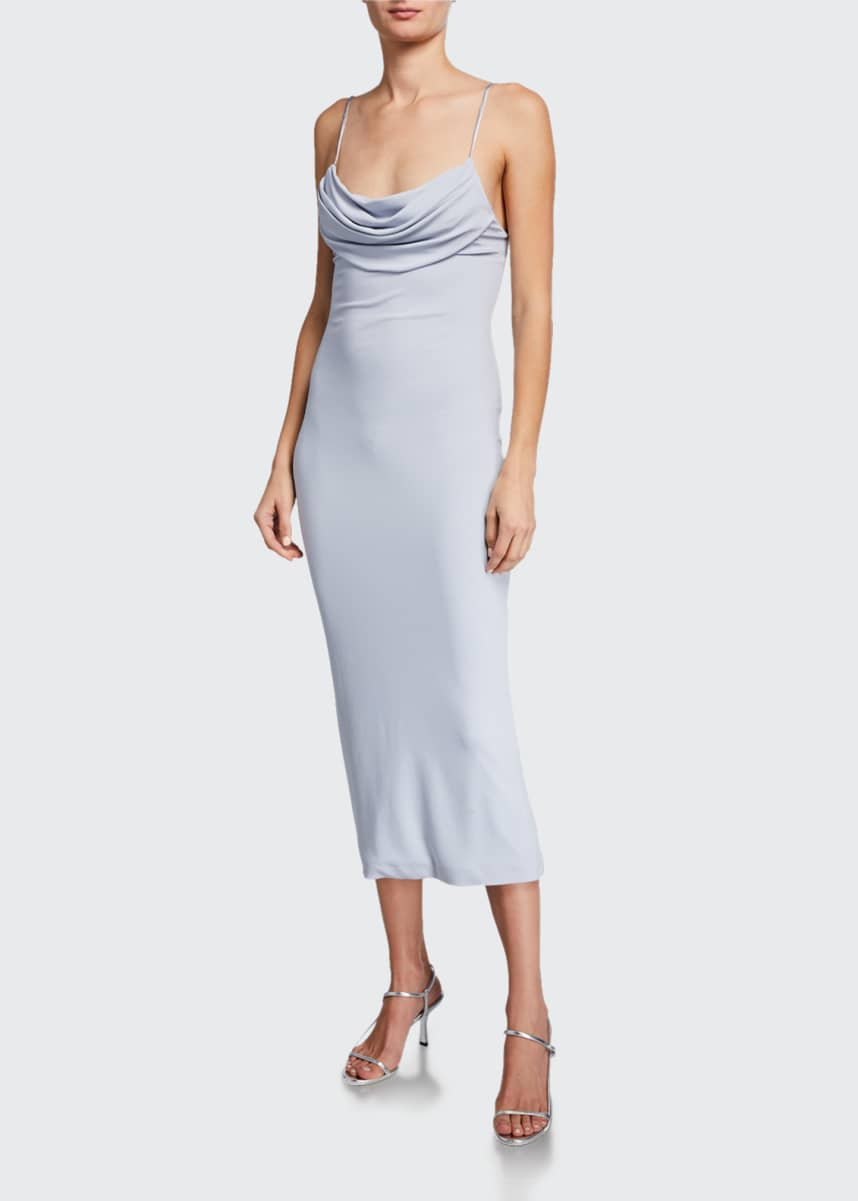 CUSHNIE Sleeveless Pencil Dress