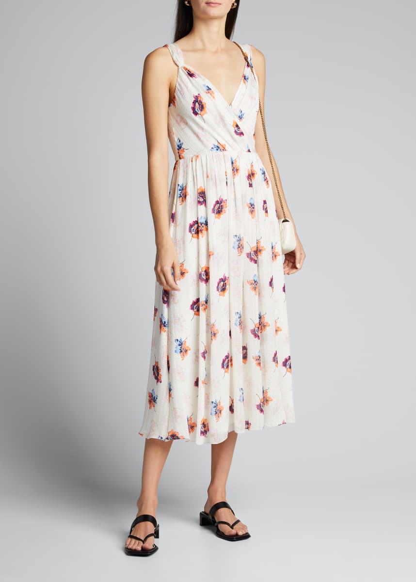Jason Wu Floral V-Neck Slip Dress
