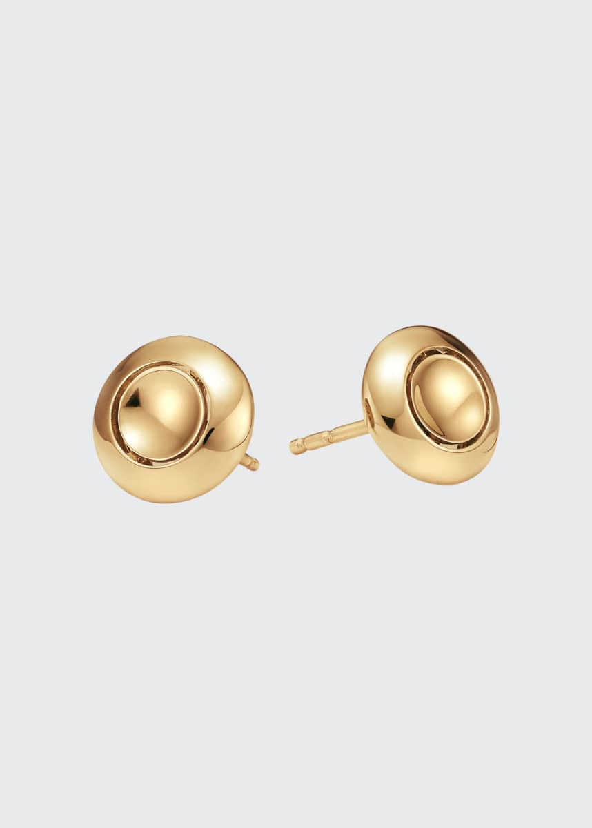 Futura Jewelry 18k Gold Stud Earrings