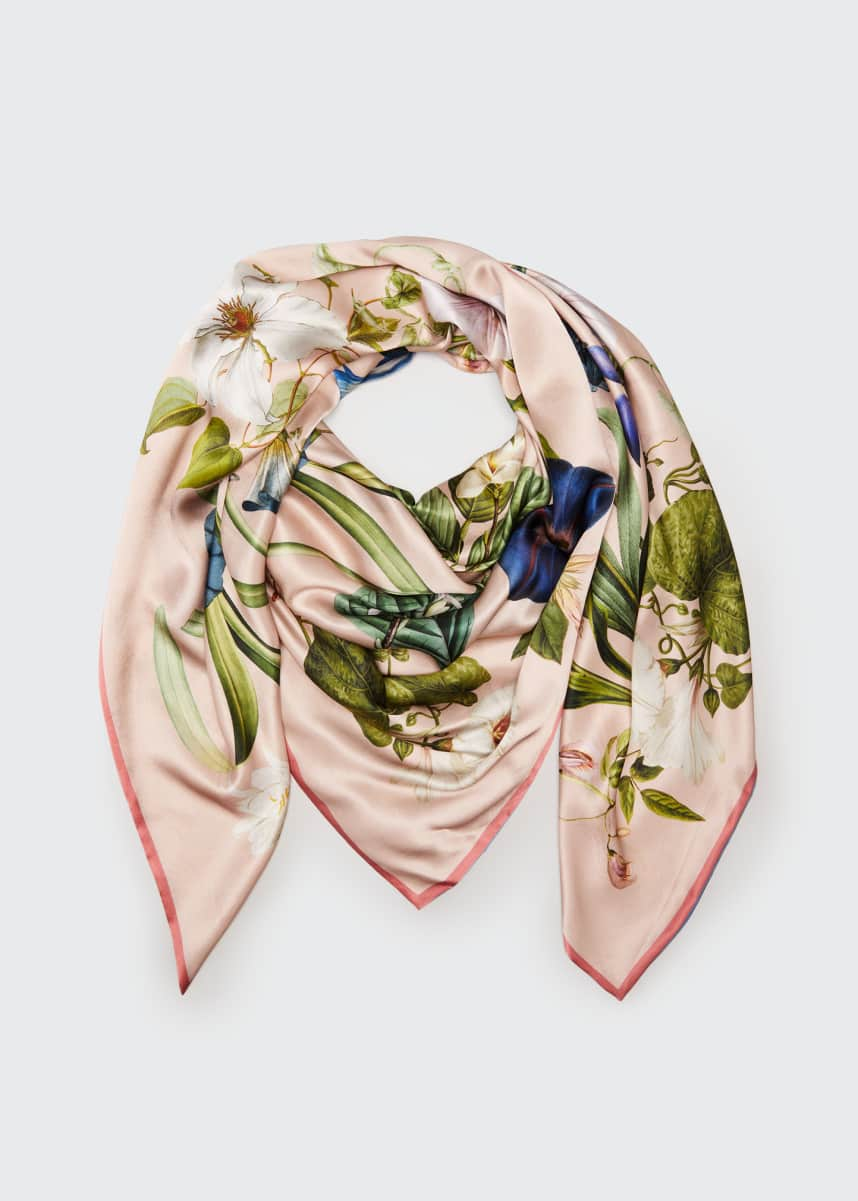 St. Piece Leah Double Sided Silk Scarf