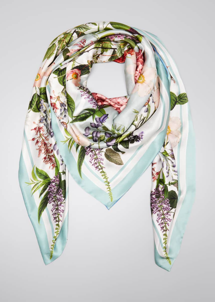 St. Piece Libby Double Sided Silk Scarf