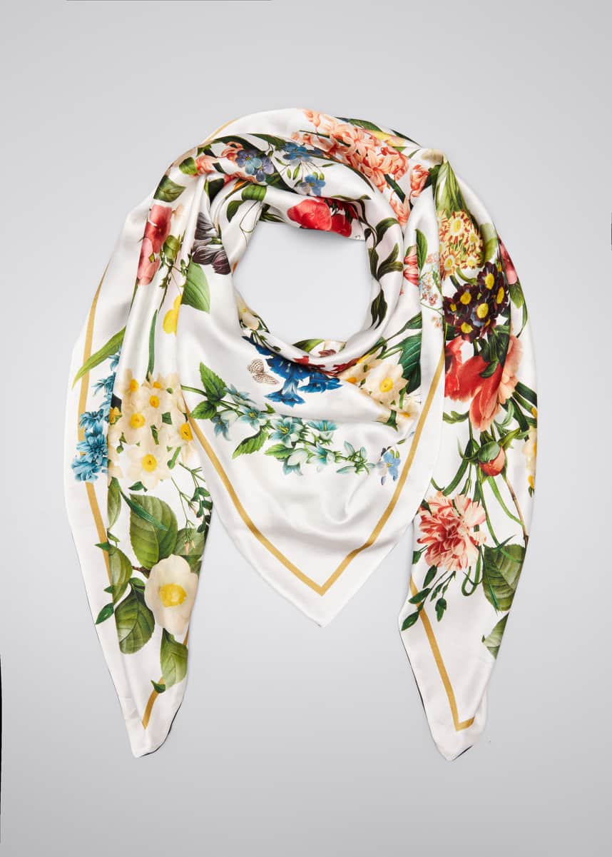 St. Piece Laura Double Sided Silk Scarf
