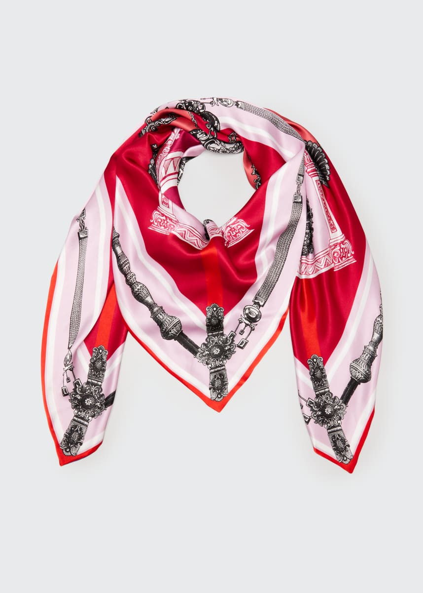 St. Piece Lexi Double Sided Silk Scarf