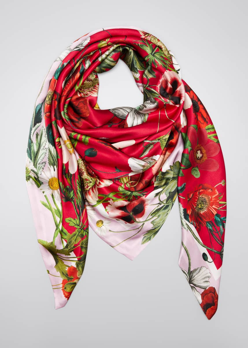 St. Piece Lisa Lori Doubled Sided Silk Scarf