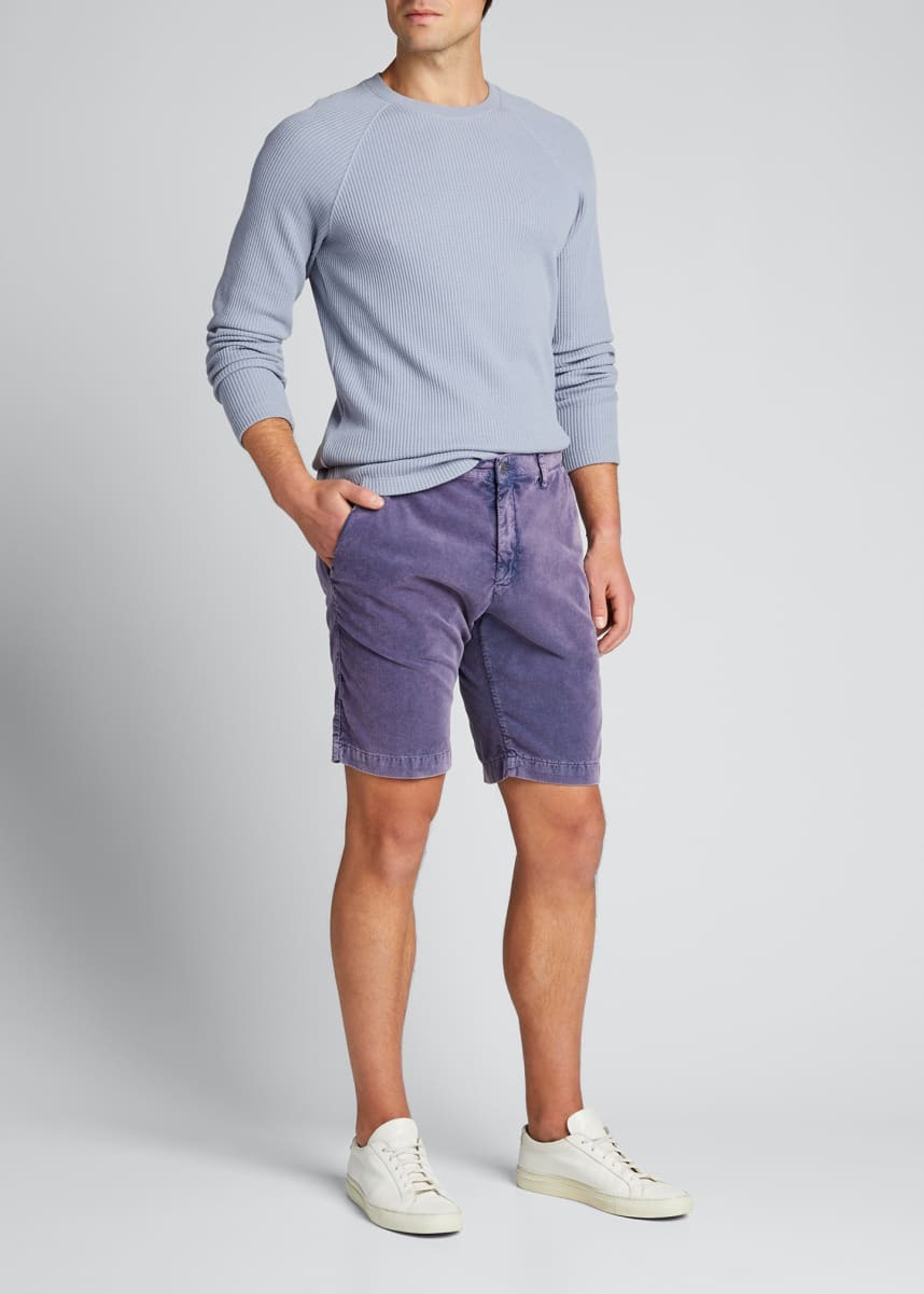 Massimo Alba Men's Baby Corduroy Shorts