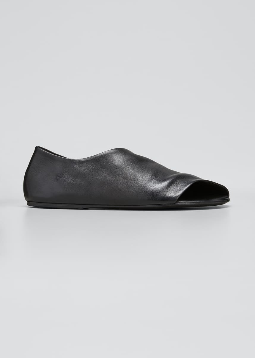Marsell Arsella Peep-Toe Mules