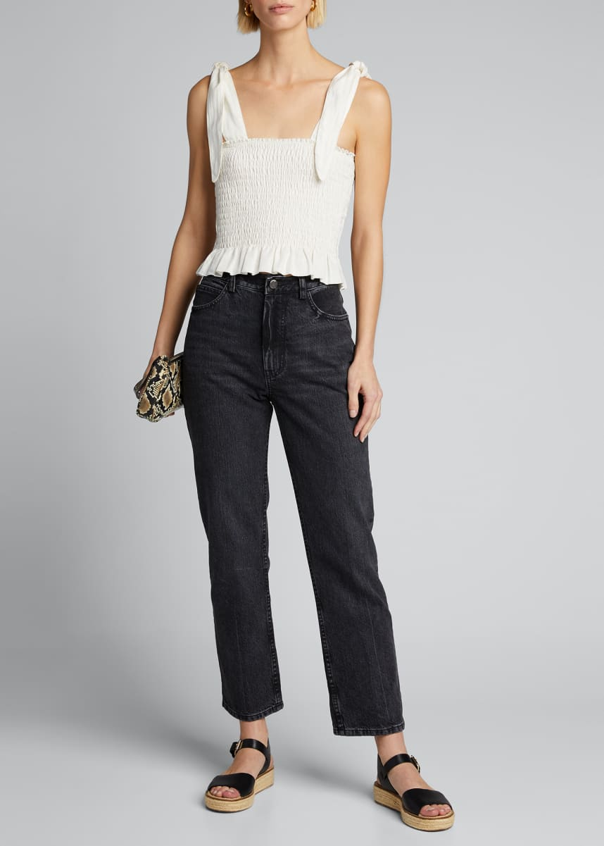 SIR The Label Emile Ruched Top