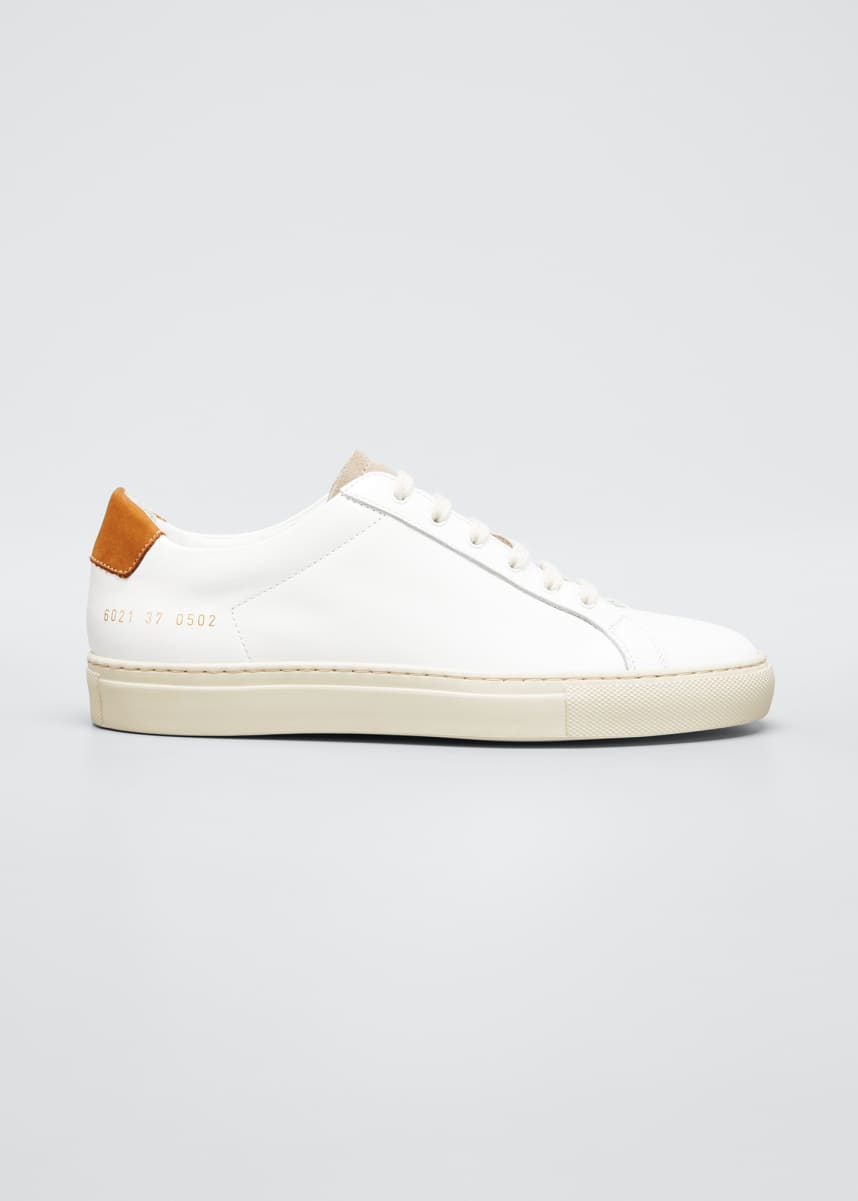 Common Projects Retro Low Special Edition Two-Tone Sneakers