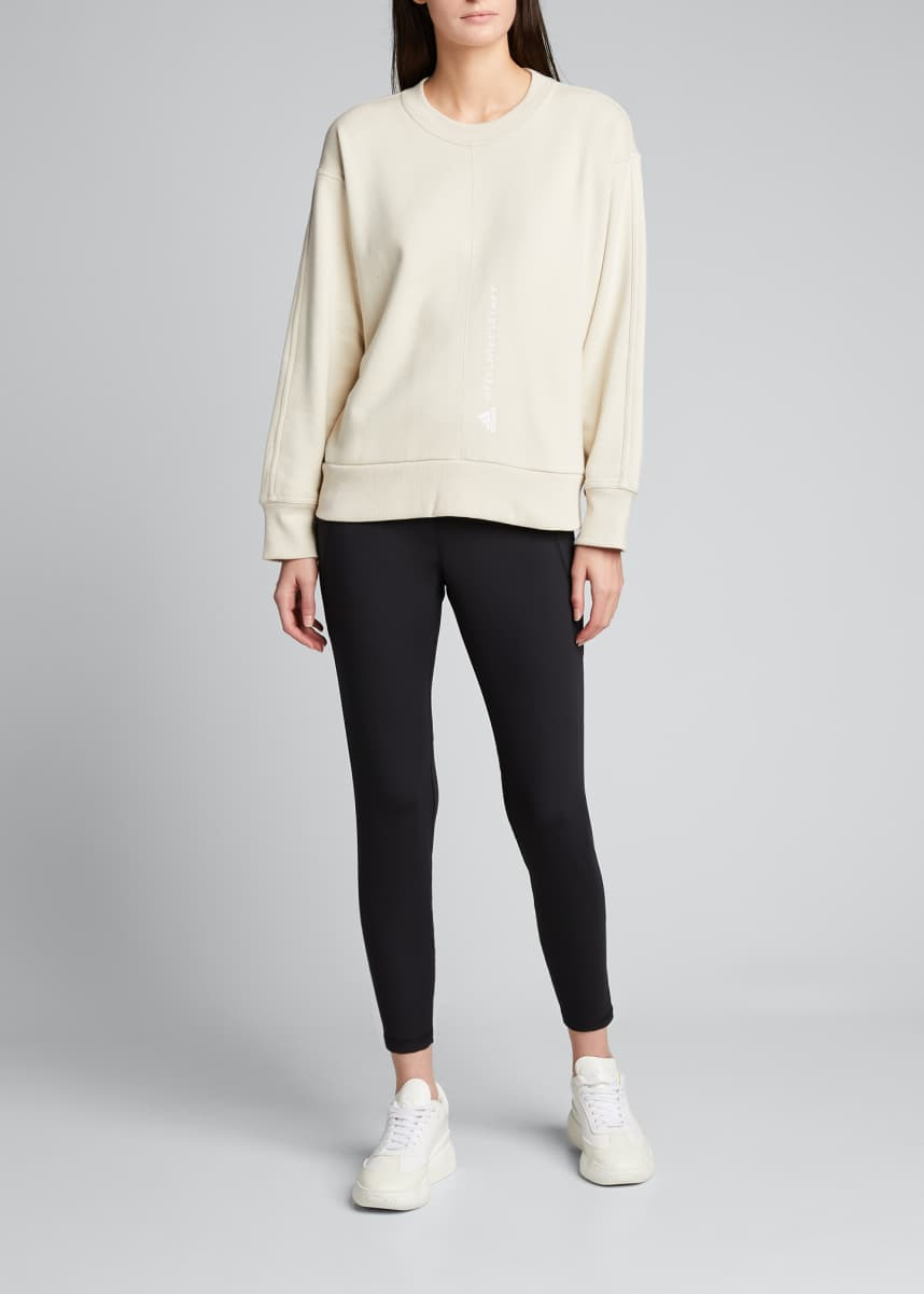 adidas by Stella McCartney Essentials Logo Pullover Sweatshirt