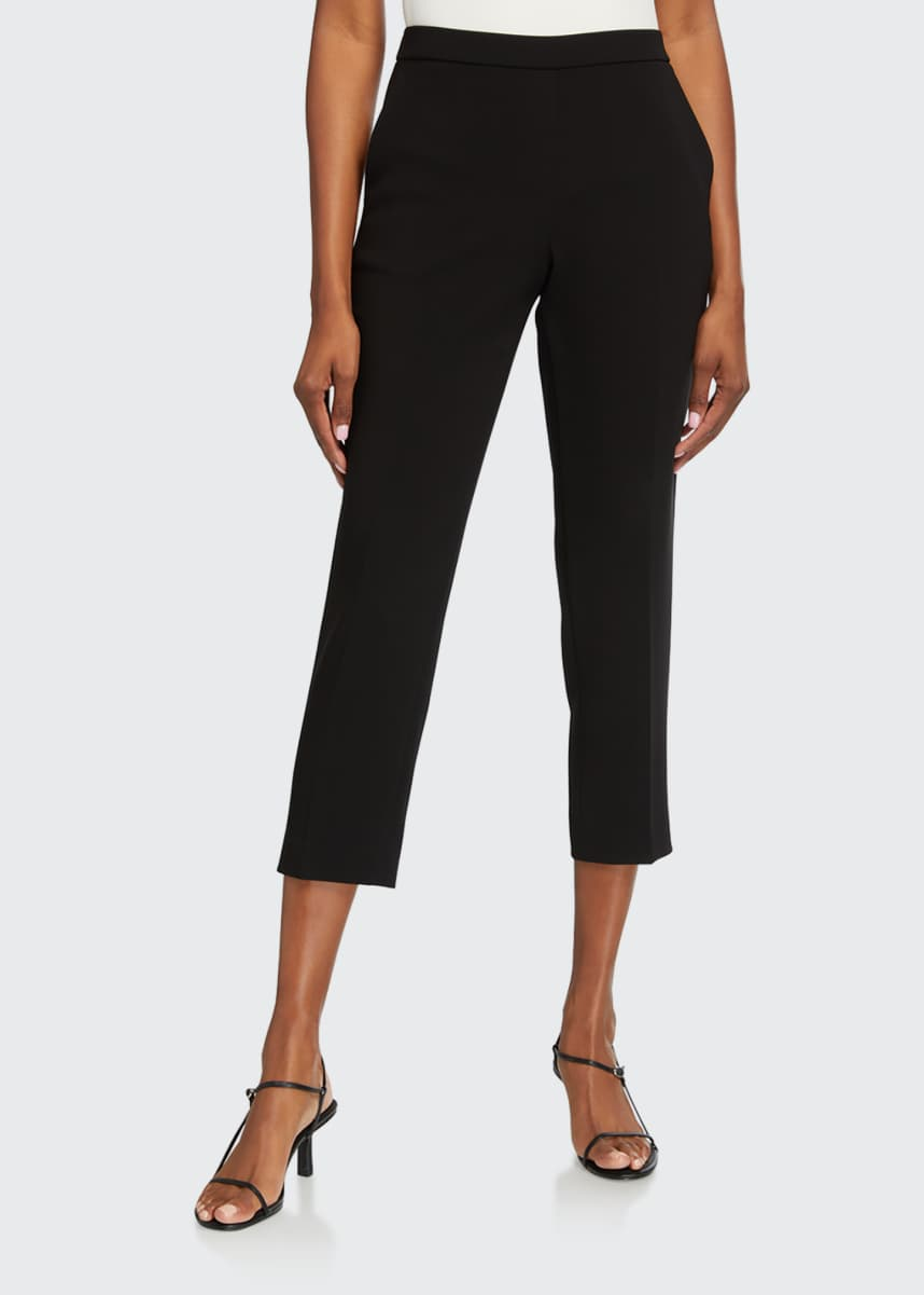 Theory Treeca Cropped Pull-On Pants