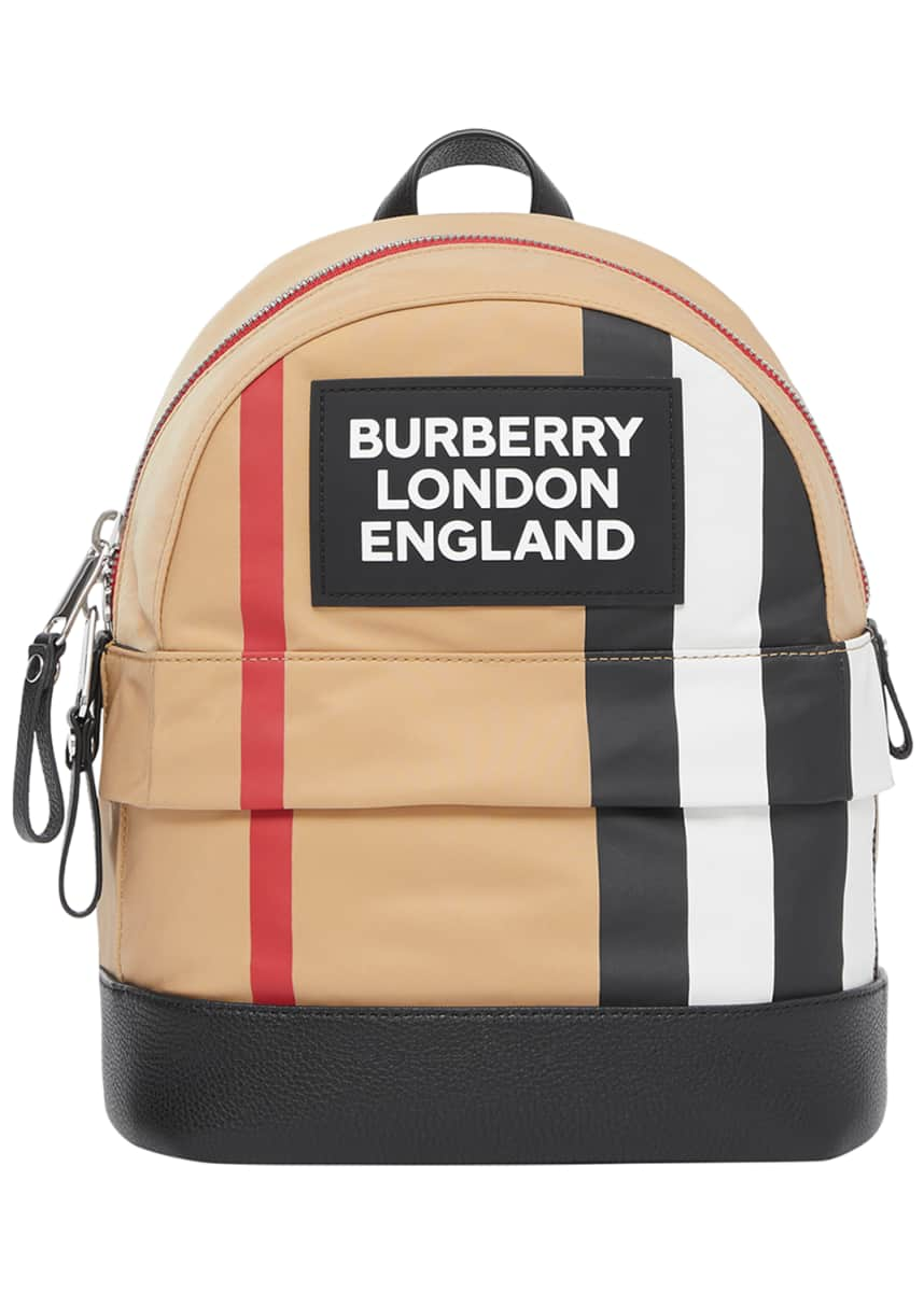 Burberry Kid's Mini Nico Check Backpack
